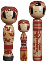 Photograph:'Kokeshi' doll.