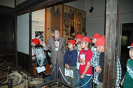 Photograph:Guiding in the Museum